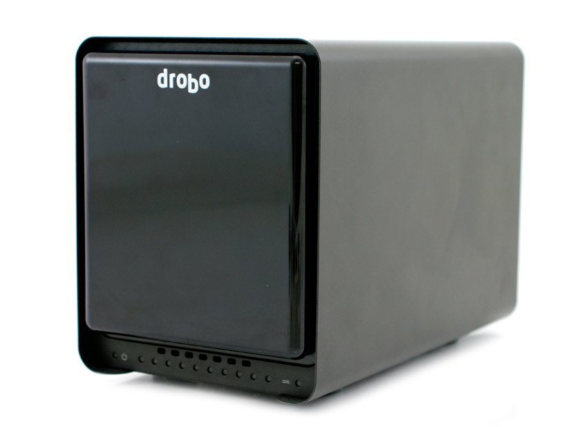 The beautiful designed, elegant Drobo 5d with Thunderbolt 2