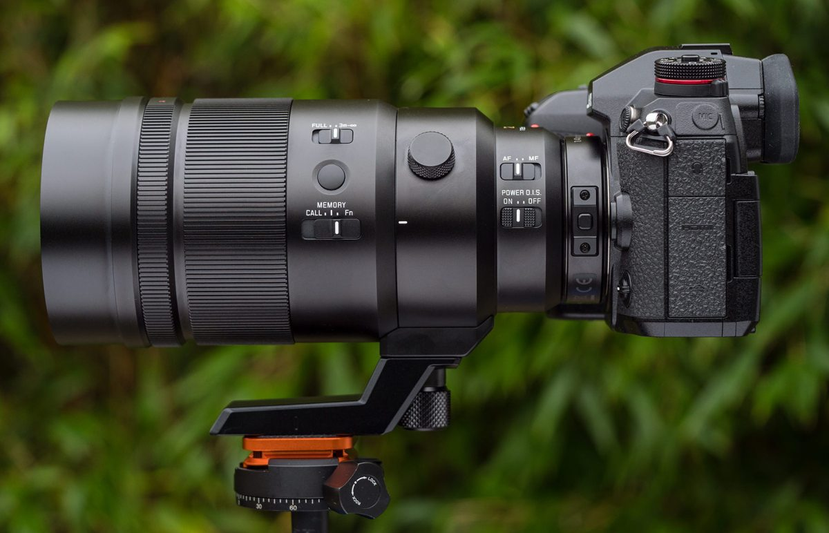 Leica 200mm with 1.4X and 2X teleconverters Lumix G9