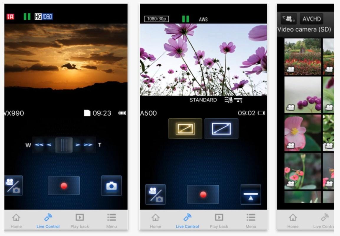 Panasonic Image app, wireless, Lumix