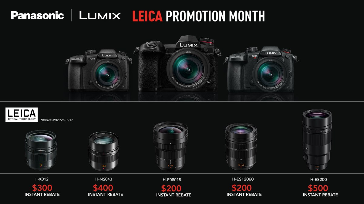 Big Sale on Leica Glass for LUMIX | Natural Exposures, Inc