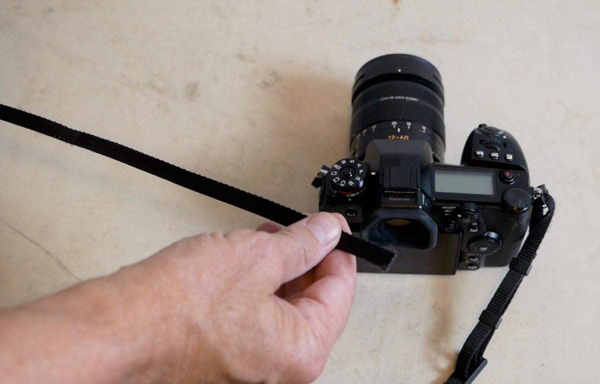 Attach Your Camera Strap