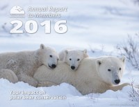Cover of 2016 Polar Bears International Annual Report