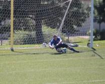 Jeff playing Goalie