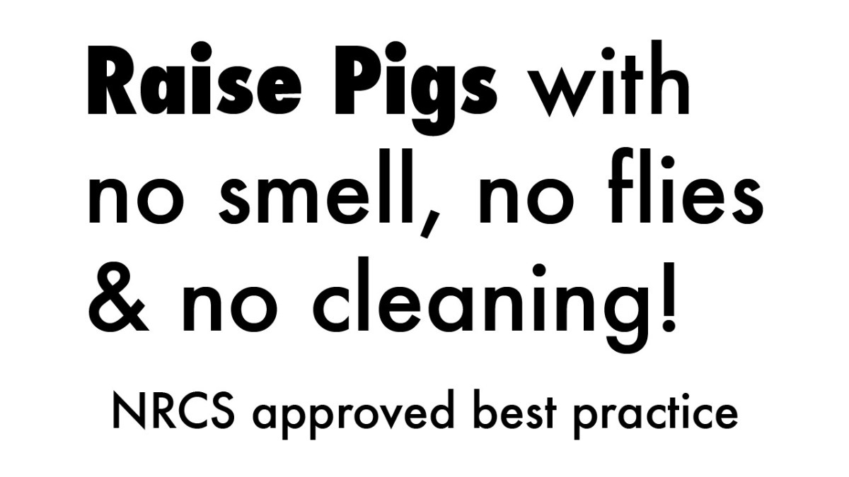 Odorless Pig Technology