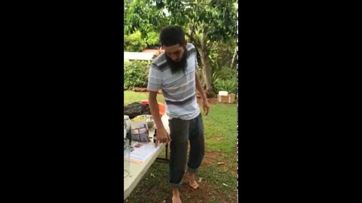 Fermented Plant Juice Workshop on Molokai