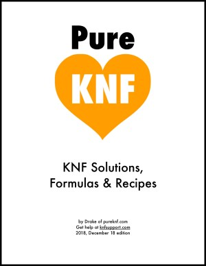 knf recipes how to make solutions pureknf foundation