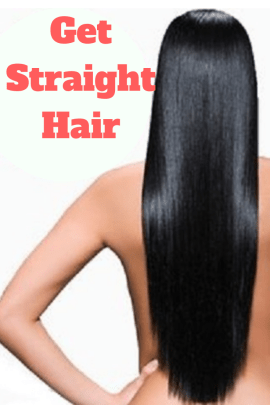 Get Straight Hair