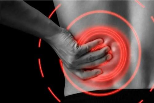 pain under left rib cage when running