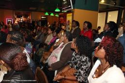 Guest during natural hair workshop