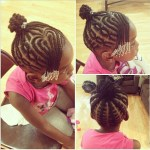 Heart Braids with Updo