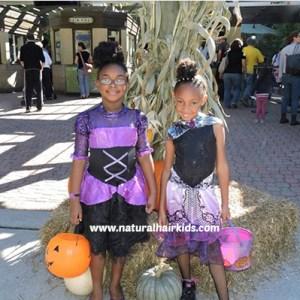 monster high costume natural hair kids