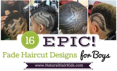 Fade Haircut designs for boys