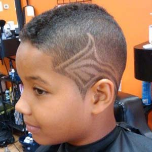 swordfish boys faded haircut design