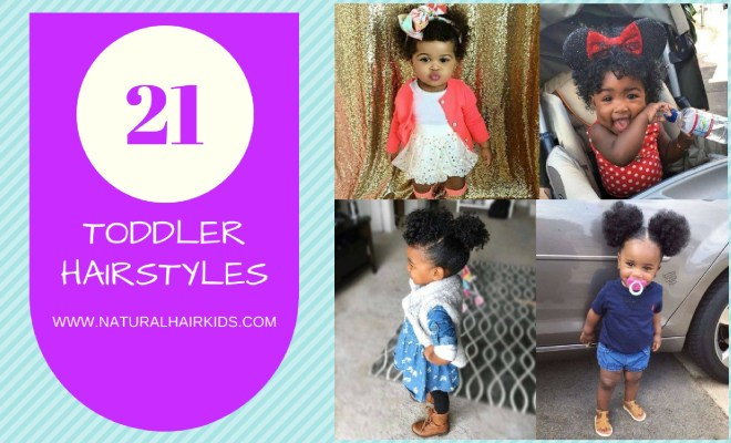 f8e81b748 21 adorable toddler hairstyles for girls - Natural Hair Kids