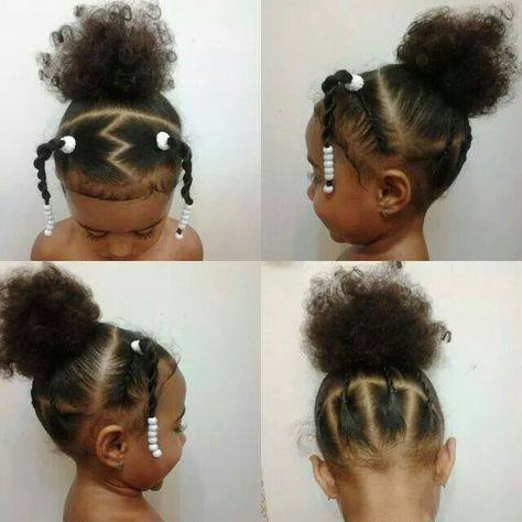 21 Adorable Toddler Hairstyles For Girls Natural Hair Kids