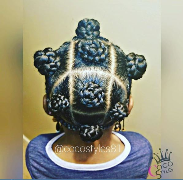 protective styles to grow waist length natural hair