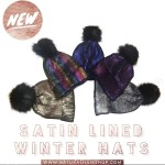 satin lined winter hats for kids