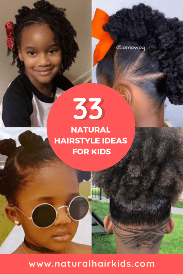 Wondrous 33 Cute Natural Hairstyles For Kids Natural Hair Kids Natural Hairstyles Runnerswayorg