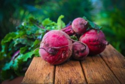 Best foods for anemia: Image of beets on a table