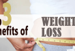 Top 3 Benefits of weight loss