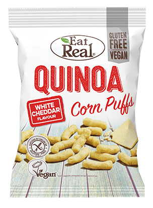 Eat Real White Cheddar Quinoa Kale Puff Chips