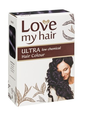 Love My Hair Ultra Low Black 100% Herbal Hair Dye