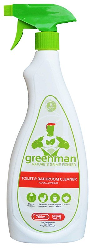 Greenman Toilet & Bathroom Cleaner