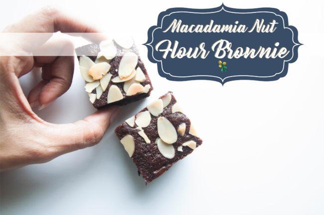Macadamia Nut Flour Gluten Free Brownies