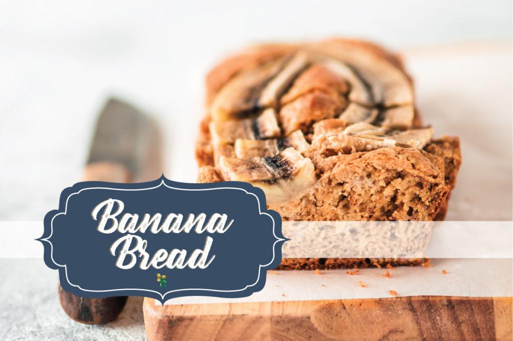 Low Carb GF Banana & Rooibos Chai Bread Recipe