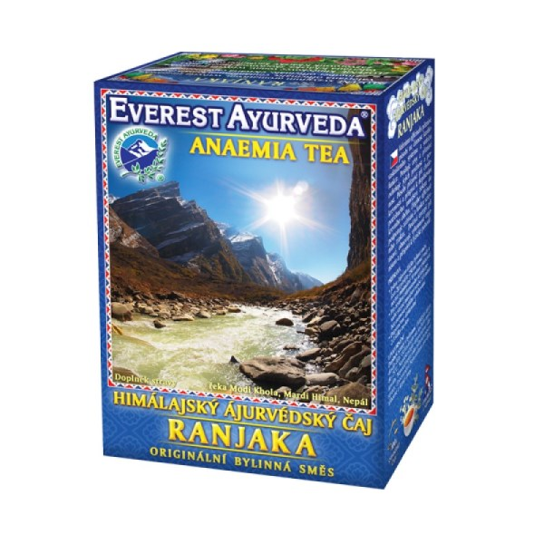 RANJAKA Iron Deficiency & Anemia Ayurveda Tea