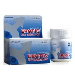 Erotic Men Natural Dietary supplement - an aphrodisiac for men with Ginseng