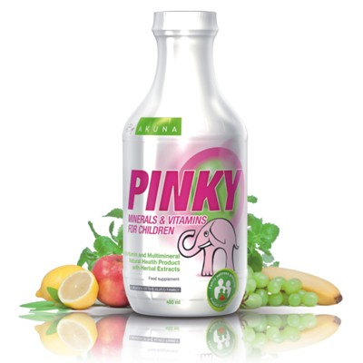 PINKY Source of Vitamins and Minerals important for good health in children 480ml
