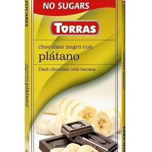 Sugar Free Dark Chocolate with Banana(75g)