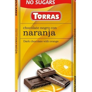 Sugar Free Dark Chocolate with Orange(75g)