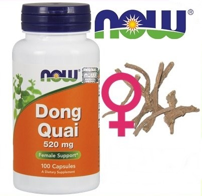 Dong Quai - Chinese Angelfish (Angelica sinensis) MENOPAUSE relief, 60 capsules