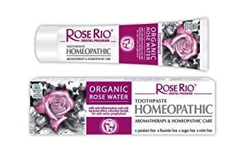 Rose Rio toothpaste Homeopathic with Rose Water, 65 ml