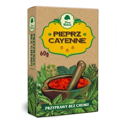 Cayenne Pepper 60g, Naturally chemicals free