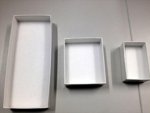 Figure 11. Unit trays –C, B and A