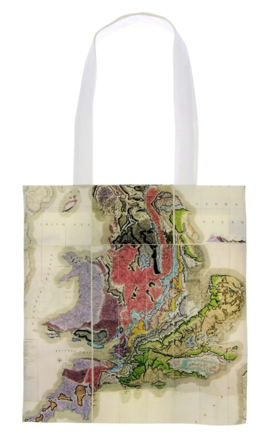 William Smith map tote bag available from the Museum's online shop