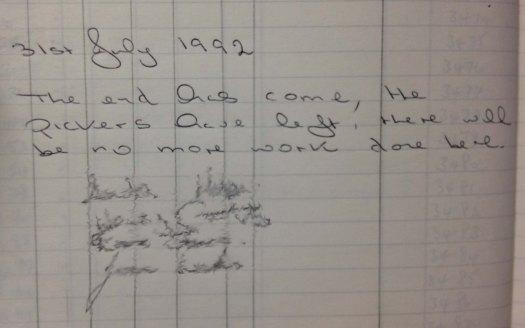 BP lab notebook annotation