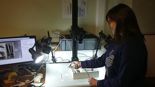 Imaging a specimen from the Plesiosaur collection
