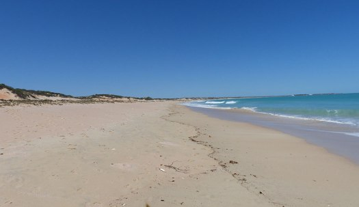 Photograph of Cable Beach in Broome, Australia