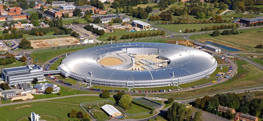 Aerial view Diamond Light Source