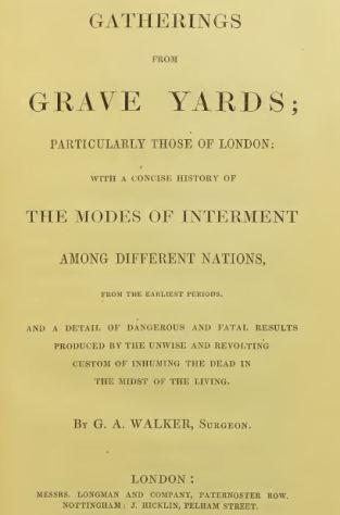 Walker gatherings from graveyards