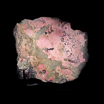 Rhodochrosite Earth Gallery Porthole specimen 2019
