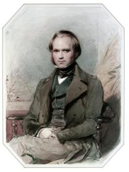 Darwin aged 31, George Richamond via Wikimedia Commons
