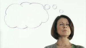 stock-footage-a-business-woman-with-a-thought-bubble