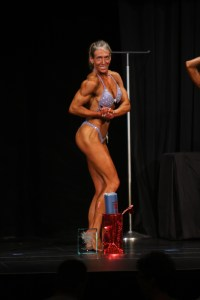 Lisa Takes Womens Bodybuilding 40+ Champion