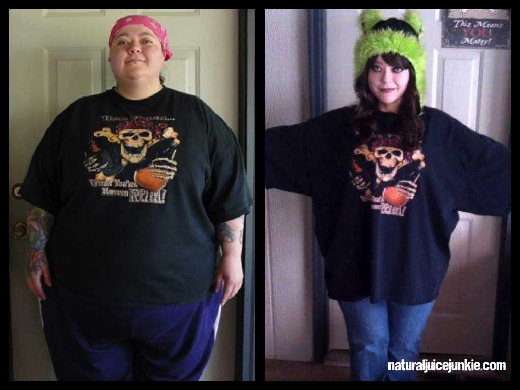 """Juicing Gave Me a Second Chance at Life"" - Kitten Achieves 250 Pound Weight Loss"
