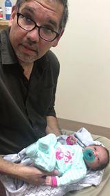 17 day-old Infant gets adjusted 11